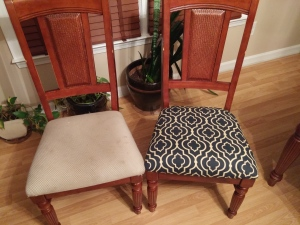 My dinning room chairs