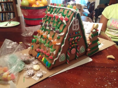 2015 gingerbread house